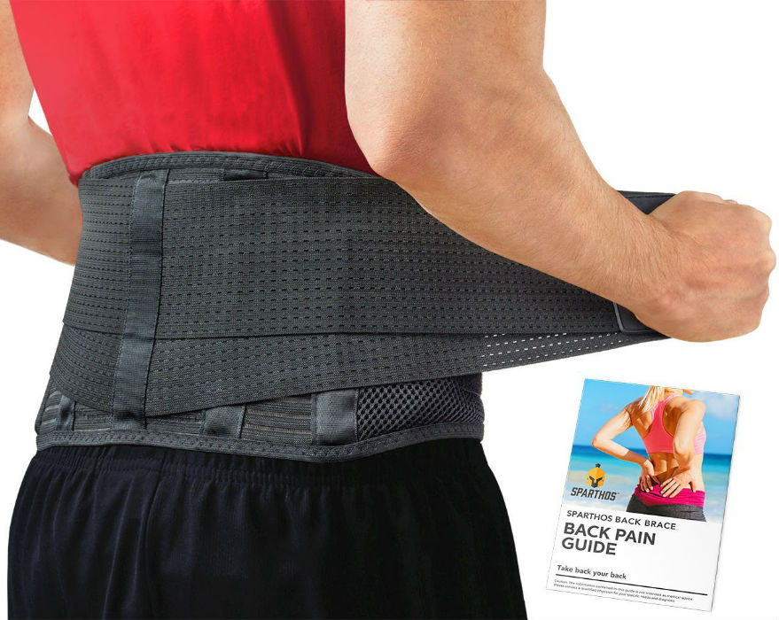 Sparthos Breathable Back Brace
