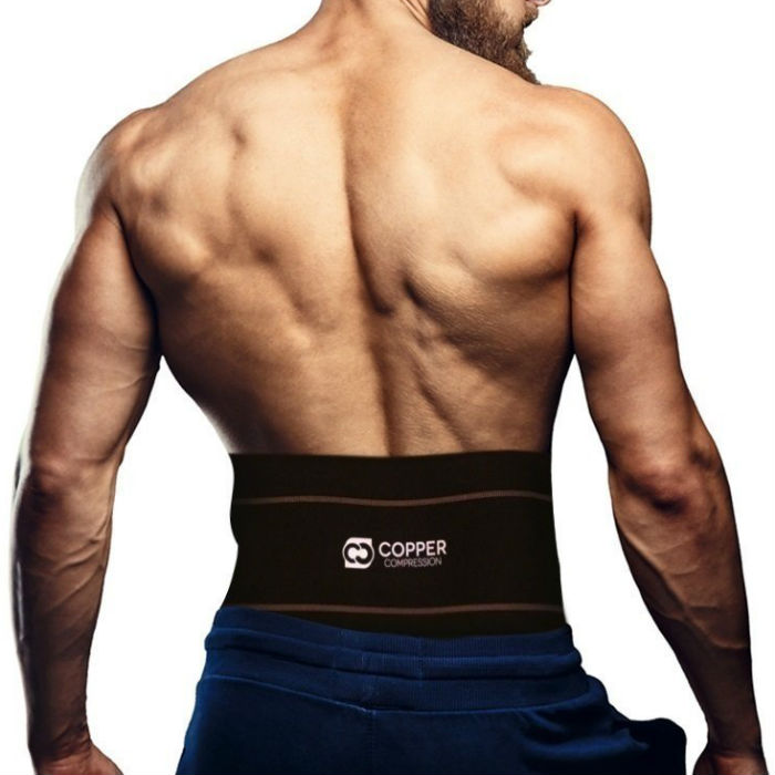 Copper Compression Lumbar support recovery brace
