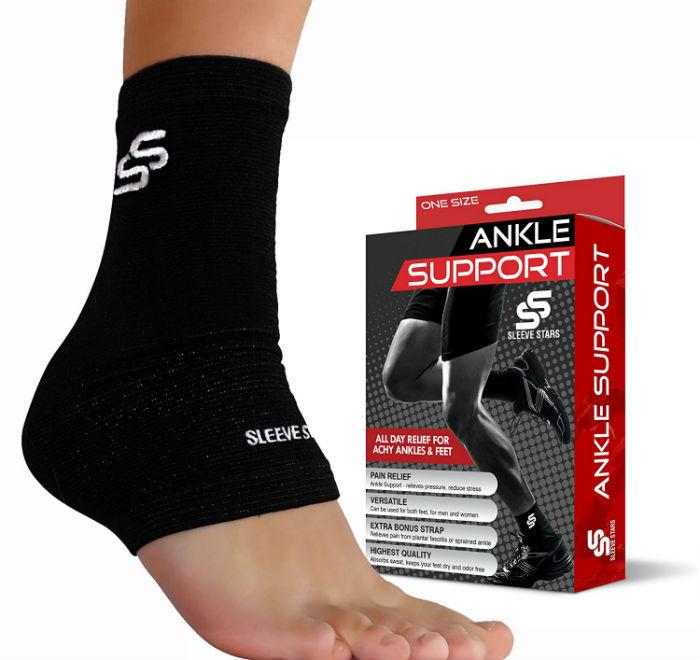 Sleeve Stars Professional Plantar Fasciitis Foot Sleeve