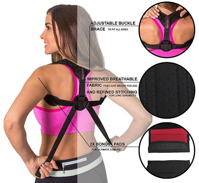 Control Fit Back Posture Corrector