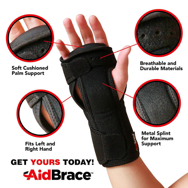 AidBrace Night Wrist Sleep Support Brace