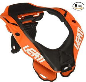 leatt orange brace