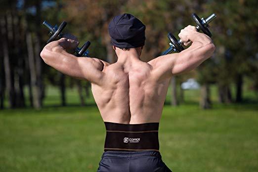 renfort arrière de compression en cuivre
