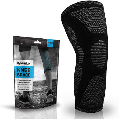 PowerLix Compression Knee Sleeve for Meniscus Tear & Arthritis