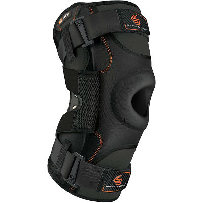 Shock Doctor Ultra Knee Brace with Bilateral Hinges