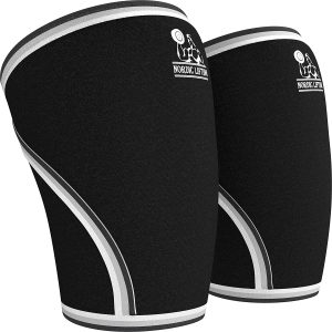 Knee Sleeves Support and Compression by Nordic Lifting